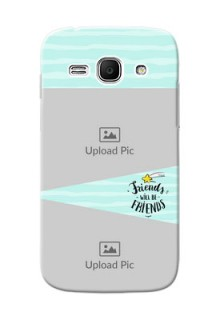 Samsung Galaxy Ace 3 2 image holder with friends icon Design