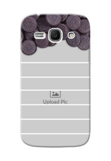 Samsung Galaxy Ace 3 oreo biscuit pattern with white stripes Design