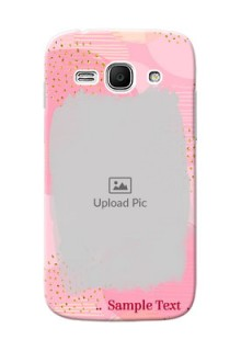 Samsung Galaxy Ace 3 splashes backdrop with gold glitter sprinkles Design