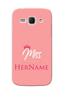 Galaxy Ace 3 Custom Phone Case Mrs with Name