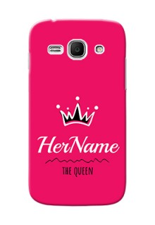 Galaxy Ace 3 Queen Phone Case with Name