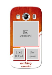 Samsung Galaxy Ace 4 LTE Wedding Memories Mobile Cover Design