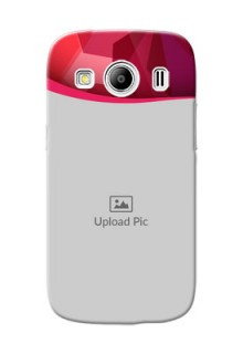 Samsung Galaxy Ace 4 LTE Red Abstract Mobile Case Design