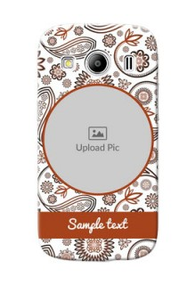 Samsung Galaxy Ace 4 LTE Floral Abstract Mobile Case Design