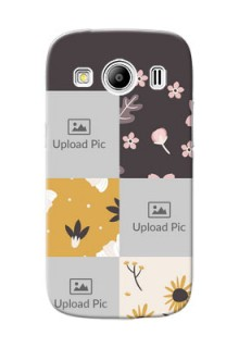 Samsung Galaxy Ace 4 LTE 3 image holder with florals Design