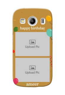 Samsung Galaxy Ace 4 LTE 2 image holder with birthday celebrations Design