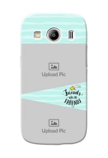 Samsung Galaxy Ace 4 LTE 2 image holder with friends icon Design