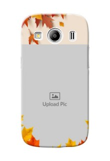 Samsung Galaxy Ace 4 LTE autumn maple leaves backdrop Design