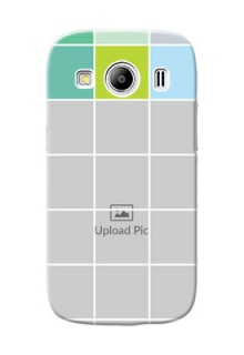 Samsung Galaxy Ace 4 LTE white boxes pattern Design Design