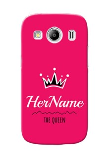 Galaxy Ace 4 Lte Queen Phone Case with Name