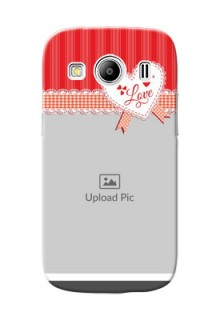 Samsung Galaxy Ace 4 Red Pattern Mobile Cover Design