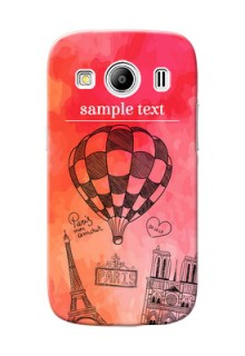 Samsung Galaxy Ace 4 abstract painting with paris theme Design