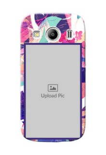 Samsung Galaxy Ace 4 abstract floral Design