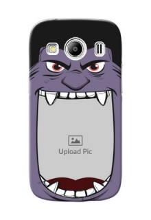 Samsung Galaxy Ace 4 angry monster backcase Design