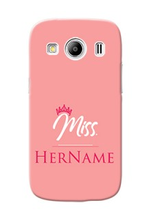 Galaxy Ace 4 Custom Phone Case Mrs with Name