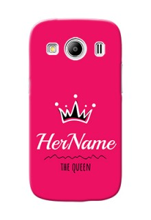 Galaxy Ace 4 Queen Phone Case with Name