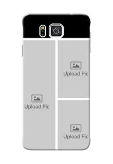 Samsung Galaxy Alpha G850 Multiple Picture Upload Mobile Cover Design