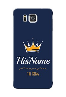 Galaxy Alpha G850 King Phone Case with Name