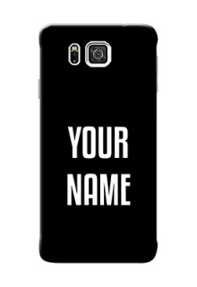 Galaxy Alpha G850 Your Name on Phone Case