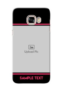 Samsung Galaxy C5 Pro Photo With Text Mobile Case Design