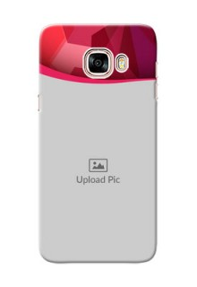 Samsung Galaxy C5 Pro Red Abstract Mobile Case Design
