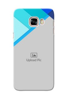 Samsung Galaxy C5 Pro Blue Abstract Mobile Cover Design