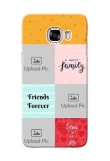 Samsung Galaxy C5 Pro 4 image holder with multiple quotations Design