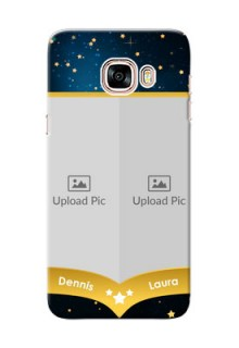 Samsung Galaxy C5 Pro 2 image holder with galaxy backdrop and stars  Design