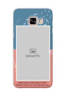 Samsung Galaxy C5 Pro 2 colour backdrop with music theme Design Design