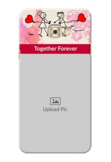 Samsung Galaxy C7 Pro Just You And Me Mobile Back Case Design