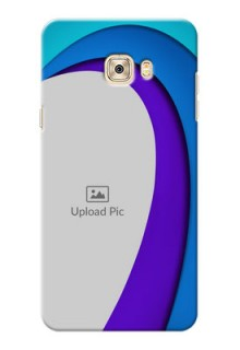Samsung Galaxy C7 Pro Simple Pattern Mobile Case Design