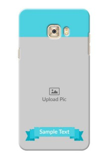 Samsung Galaxy C7 Pro Simple Mobile Back Cover Design