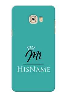 Galaxy C7 Pro Custom Phone Case Mr with Name