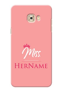 Galaxy C7 Pro Custom Phone Case Mrs with Name