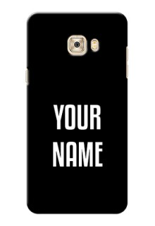 Galaxy C7 Pro Your Name on Phone Case