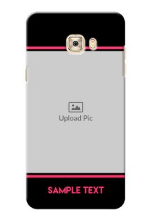 Samsung Galaxy C7 Photo With Text Mobile Case Design