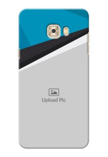 Samsung Galaxy C7 Simple Pattern Mobile Cover Upload Design