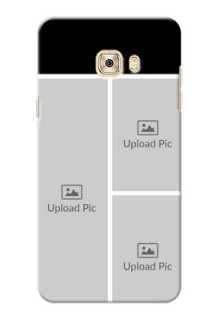 Samsung Galaxy C7 Multiple Picture Upload Mobile Cover Design