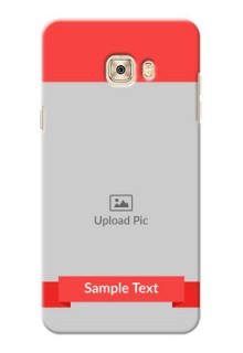 Samsung Galaxy C7 Simple Mobile Case Design