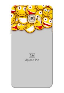 Samsung Galaxy C7 smileys pattern Design