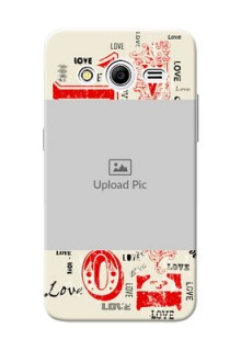 Samsung Galaxy Core 2 Lovers Picture Upload Mobile Case Design