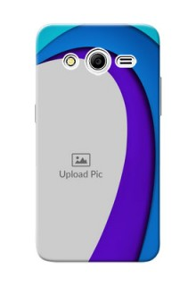 Samsung Galaxy Core 2 Simple Pattern Mobile Case Design