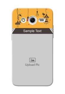 Samsung Galaxy Core 2 my family design with hanging icons Design Design