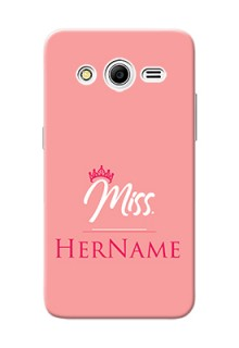 Galaxy Core 2 Custom Phone Case Mrs with Name