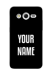 Galaxy Core 2 Your Name on Phone Case