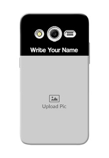 Galaxy Core 2 Photo with Name on Phone Case