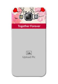 Samsung Galaxy E5 Just You And Me Mobile Back Case Design