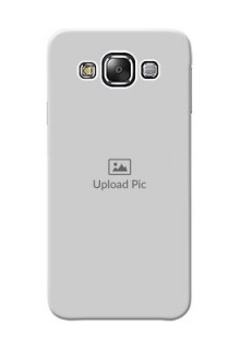 Samsung Galaxy E5 Full Picture Upload Mobile Back Cover Design