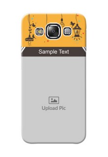 Samsung Galaxy E5 my family design with hanging icons Design Design