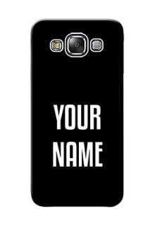 Galaxy E5 Your Name on Phone Case